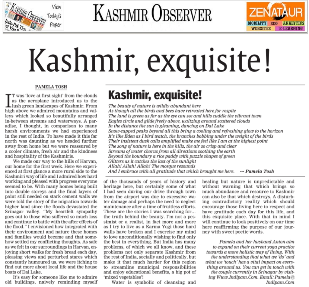 Kashmir Observer - 15 July 2015