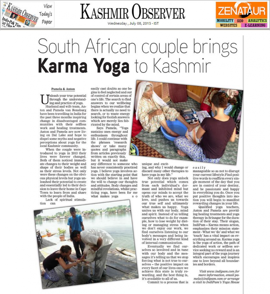 Kashmir Observer - 8 July 2015